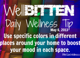 WellBitten Wellness Tip: Paint your Home to Change your Mood