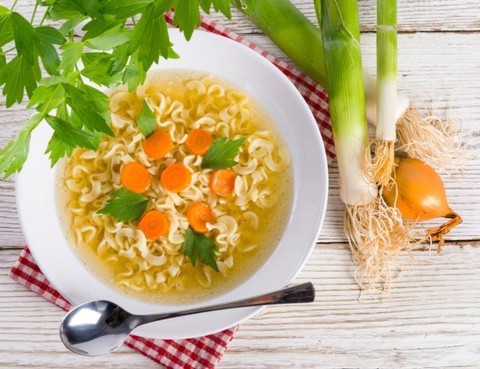 Chicken Noodle Soup Health Benefits