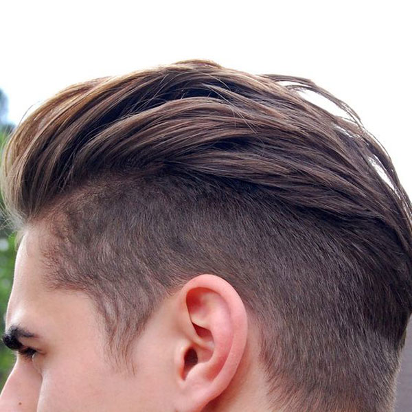 Slicked Back Undercut Hair Style
